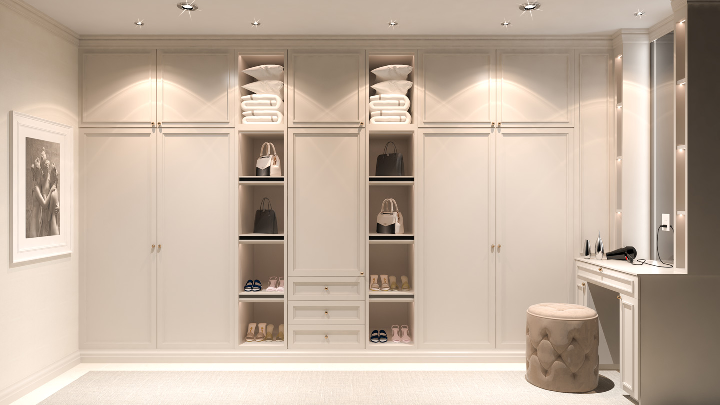 Wardrobes and Cupboards